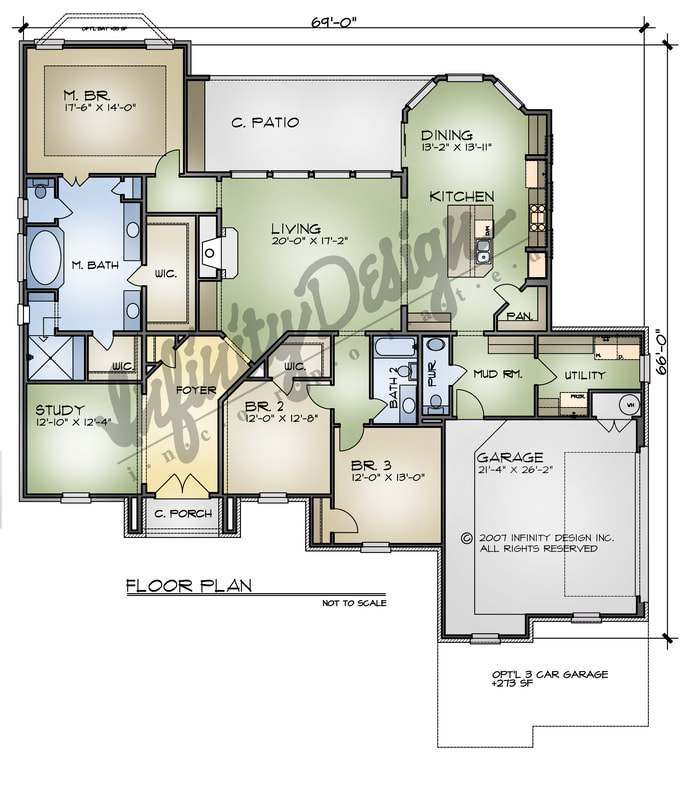 the lucera floorplan by infinity designs