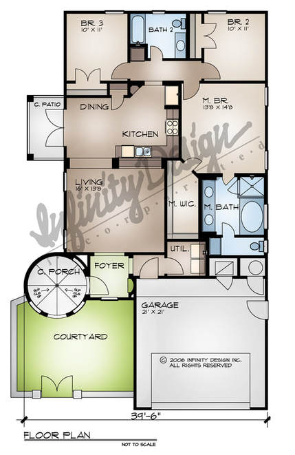 the madera floor plan by infinity design