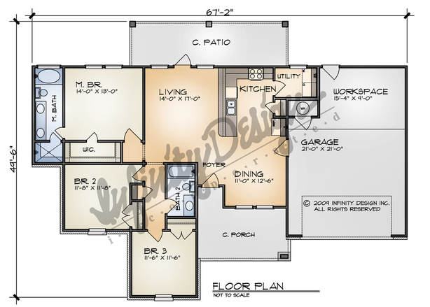 the shenandoah floor plan by infinity design