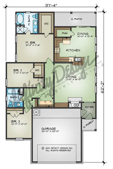 the taylor floor plan by infinity design